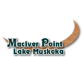 MacIver Point, Lake Muskoka
